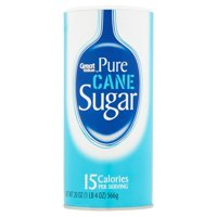 (3 Pack) Great Value Pure Cane Sugar, 20 oz