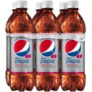 Wild Cherry Diet Pepsi? 6-16.9 fl. oz. Plastic Bottle