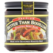 (2 Pack) Better Than Bouillon Premium Roasted Beef Base, 8 oz