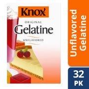 Knox Unflavored Gelatin, 32 ct - Envelopes, 8.0 oz Box