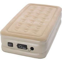 "Serta Raised 18"" Twin Air Mattress with neverFLAT Pump"