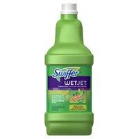 Swiffer WetJet Multi-Purpose and Hardwood Liquid Floor Cleaner Solution Refill, with Gain Scent, 42.2 fl oz