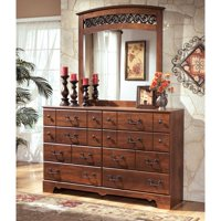 Signature Design by Ashley Timberline 8 Drawer Dresser with Optional Mirror