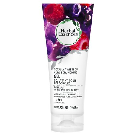 (2 pack) Herbal Essences Totally Twisted Curl-Scrunching Gel with Berry Essences, 6 oz