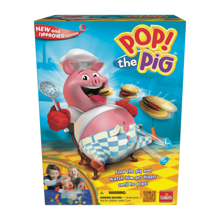Pop the Pig Game - Family Game by Goliath Games (30546) - Pep Peppa Pig