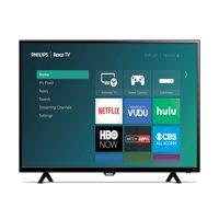 "Refurbished Philips 40"" Class FHD (1080P) Roku Smart LED TV (40PFL4662/F7)"