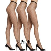 bf6e42ad2 Yacht   Smith 3 Pack Women s Fishnet Pantyhose