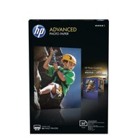 HP Advanced Photo Paper, Glossy, 4x6, 50 Sheets