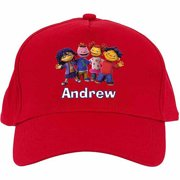 Personalized Sid the Science Kid Friends in a Row Baseball Hat 69179d744e4d