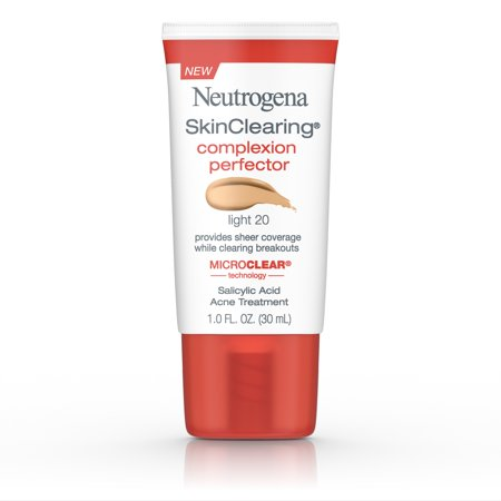 Neutrogena Skinclearing Complexion Perfector With Salicylic Acid, Light, 1 Fl. (Foundation Silver Light)