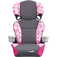 Evenflo Big Kid Sport High Back Booster Seat, Peony Playground