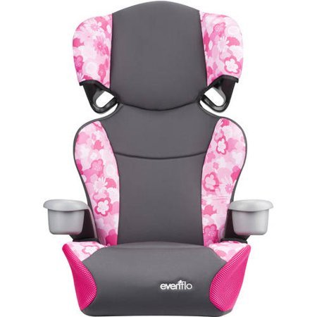 Evenflo Big Kid Sport High Back Booster Seat, Peony