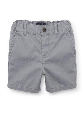 Flat Front Chino Shorts (Baby Boys & Toddler Boys)