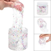 DZT1968 170ml Colourful Pentagram Clear Slime Putty Scented Stress Kid Clay Toy