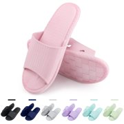 939023e76fac8 Women s Slip On Slippers Non-Slip Shower Sandals for Women