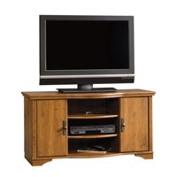 """Sauder Harvest Mill Entertainment Credenza for TVs up to 46"""", Abbey Oak Finish"""