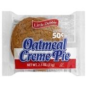 Mckee Foods Little Debbie  Oatmeal Creme Pie, 2.5 oz