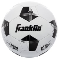 Franklin Sports Competition 100 Size 4 Soccer Ball-Black/White
