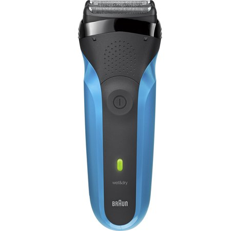 Braun Series 3 310s ($10 Rebate Available) Wet & Dry Electric Shaver for Men / Rechargeable Electric Razor, Blue