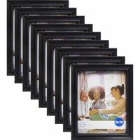 """Mainstays Brooke 8"""" x 10"""" Black Frame, Set of 9"""