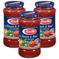 (3 Pack) Barilla® Tomato & Basil Tomato Pasta Sauce, 24 oz Jar