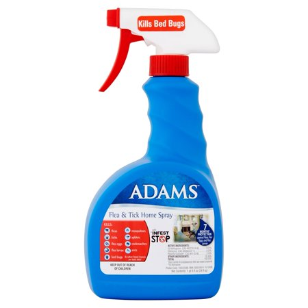 Adams Flea And Tick Control Home Spray 24 Oz Walmart Com