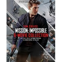 Mission: Impossible 6 Movie Collection (Blu-ray)