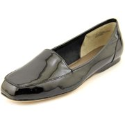 5dace1cfd Array Freedom Women N S Apron Toe Patent Leather Black Flats
