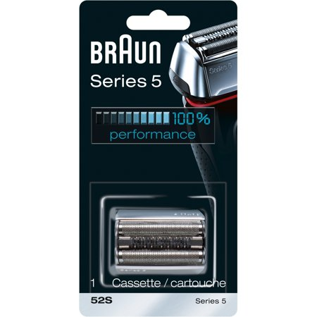 Braun Shaver Replacement Part 52 S Silver - Compatible with Series 5 - Shaver Replacement