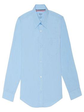 french toast toddler boy long sleeve classic dress shirt