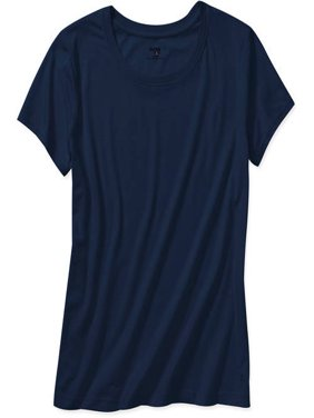 Womens Plus-Size Dri-More Core Workout Tee With Wicking