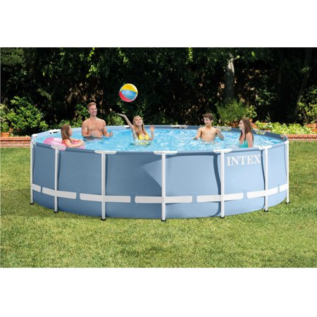 Intex 14 X 42 Quot Prism Frame Above Ground Pool With Filter