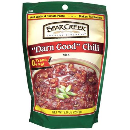 Bear Creek Country Kitchens Darn Good Chili Mix 9 8 Oz Walmart Com