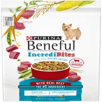 Purina Beneful IncrediBites With Real Beef Adult Dry Dog Food - 15.5 lb. Bag