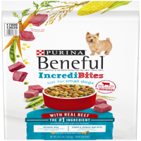 Purina Beneful IncrediBites With Real Beef Adult Dry Dog Food - 15.5 lb. Bag