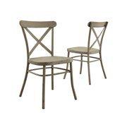 ce546812b86b Better Homes and Gardens Collin Distressed White Dining Chair