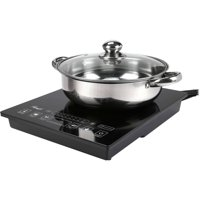 Rosewill RHAI-15001 1800W Electric Hot Plate Induction Cooker Portable Burner w/SS Pot