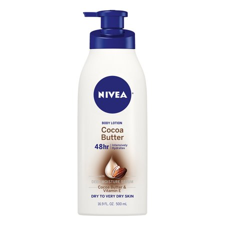 NIVEA Cocoa Butter Body Lotion 16.9 fl. oz. (Natural Cocoa Butter)