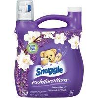 Snuggle Exhilarations Liquid Fabric Softener, Lavender & Vanilla Orchid, 96 Ounce, 112 Loads