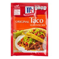 (4 Pack) McCormick Original Taco Seasoning Mix, 1 Oz