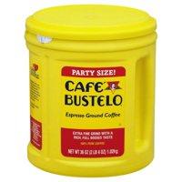 Cafe Bustelo, Espresso Style Ground Coffee, 36oz
