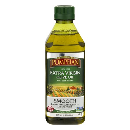 Pompeian® Imported Extra Virgin Smooth Olive Oil 16 fl. oz. Bottle
