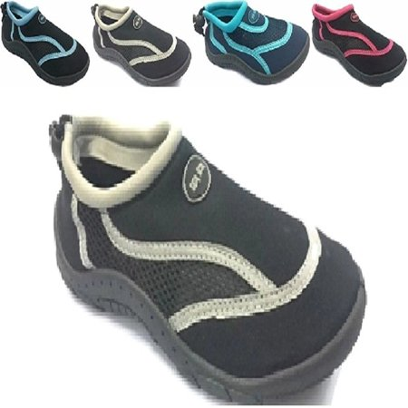 Teva Water Shoes - Ladies Womens Waterproof Water Shoes Aqua Socks Beach Pool Yoga Exercise Boating Surf Mesh Adjustable Toggle