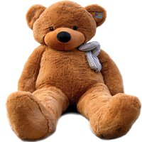 Joyfay Giant Teddy Bear in Dark Brown- 6ft Stuffed Bear, Great fo Christmas, Easter, Valentines Day, and Birthdays