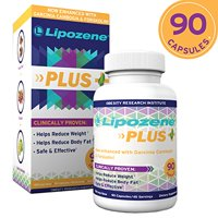 Lipozene Plus Garcinia Cambogia Extract & Forskolin Diet Pills, 90 Ct