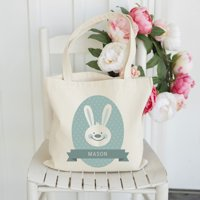 Personalized Easter Tote Bags - 8 Patterns Available!