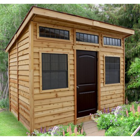 Outdoor Living Today Studio 12 x 8 ft. Garden Shed ... on Garden And Outdoor Living id=28724