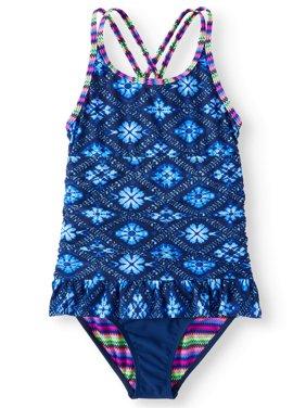 Ruffled One-Piece Swimsuit (Little Girls, Big Girls & Big Girls Plus)