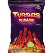 Sabritas Turbos Flamas Corn Snacks, 9.25 oz Bag