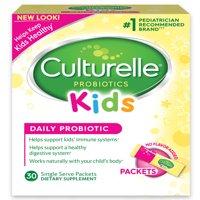 Culturelle Probiotics Kids Daily Probiotic Dietary Supplement Packets - 30 CT
